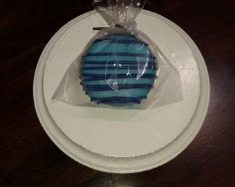 12 Blue chocolate covered oreos