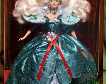 1995 Happy Holidays Barbie, Mattel