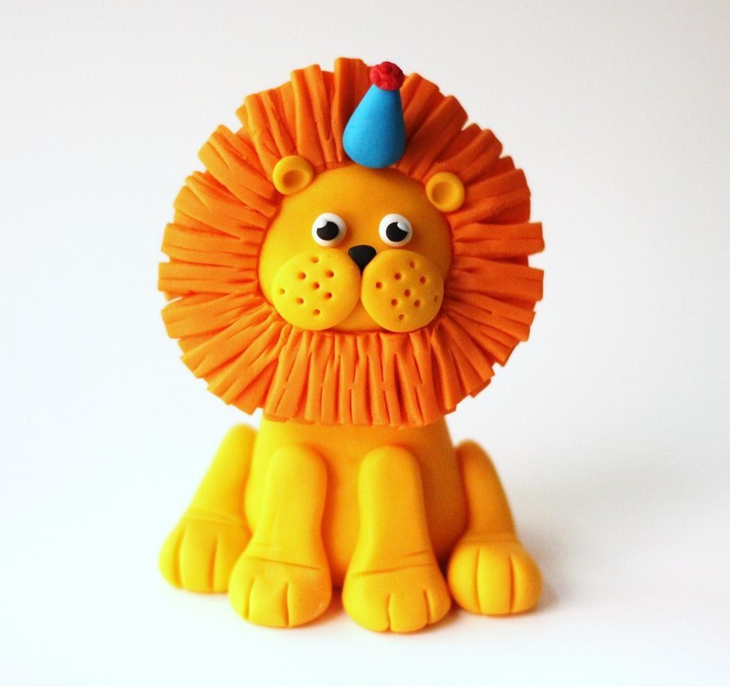 Fondant Lion Cake Topper Deluxe Fondant Lion Topper Lion
