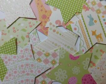 Forty Paper Stars - Whimsical Children Theme