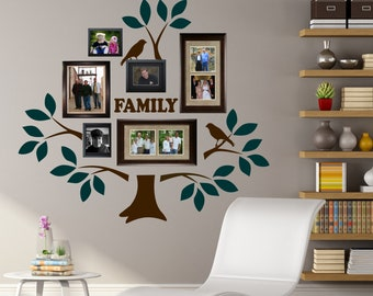 2 Color Family Tree Kit, Vinyl Wall Lettering, Vinyl Wall Decals, Vinyl  Letters