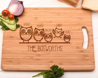Housewarming Gift Chopping Board, Cutting Board Gift. Family Gift.
