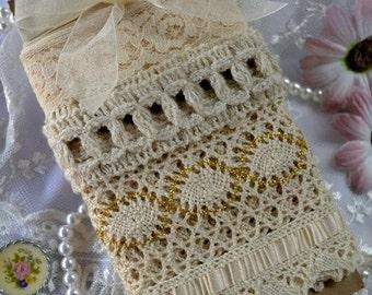 Vintage Ribbon Lace Bundle Off White