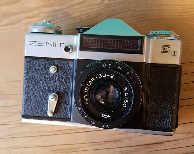 Working Zenit E With Case - USSR