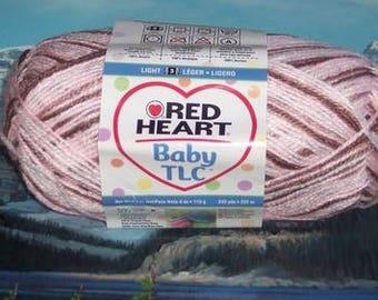 2585930 Red Heart Baby TLC 4 oz Neapolitan