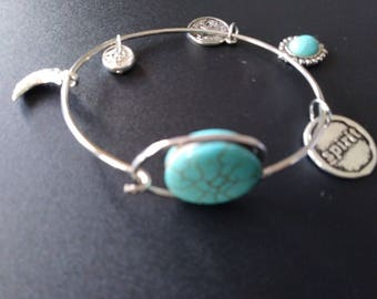 Spirit Charm Bracelet Powered by Turquoise