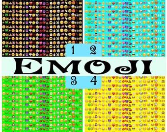 Pattern Vinyl, Emoji, Adhesive, Outdoor Vinyl, Heat Transfer Vinyl, Iron On Vinyl, Smiley Faces Emoji Fun