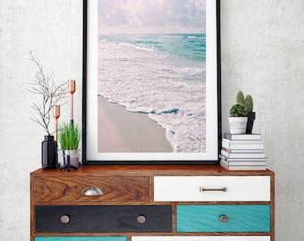 Aqua Crush II / Beach Photography / Beach Decor / Florida / Beach Print