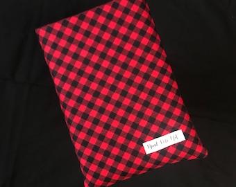 Indie Red & Black Plaid