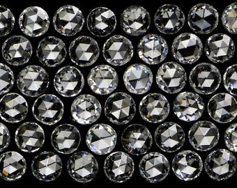 Natural Loose Diamonds Rose Cut Round Shape G H Color VVS1-VS1 Clarity 1 Pcs NQ1