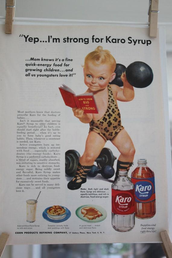 Vintage Karo Syrup Ad November 1952 Good Housekeeping