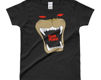 Black Power Ladies' T-shirt