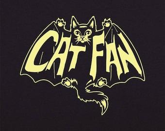 Cat Shirt Batman T-shirt CAT FAN Cat Lady Tee Men's Shirt Women's Shirt Cat Lovers Gift Cat Gift Kitty Kitten Cute Cat Gift Small to 3XL