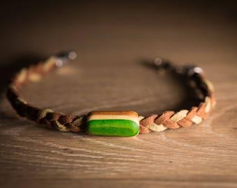 Recycled Skateboard Bracelet