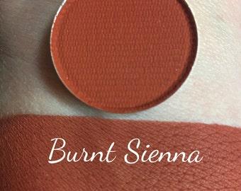 BURNT SIENNA - Matte Pressed Eyeshadow - Brick Red