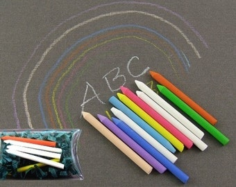 5 Assorted Tiny Chalk for Projects Large and Small - Grab Bag - Lucky Dip