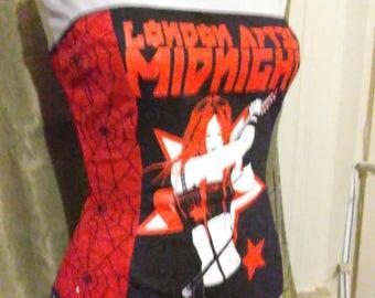 London After Midnight Sean Brennan  Band  top shirt corset top Goth