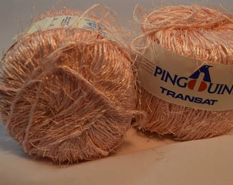 Pingouin Polyamide Cotton blend in Pink