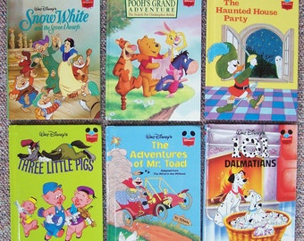 Disney's Wonderful World of Reading - Mr Toad, 101 Dalmatians, Pooh's Grand Adventure, Haunted House - Lot of 9 Walt Disney Children's Books