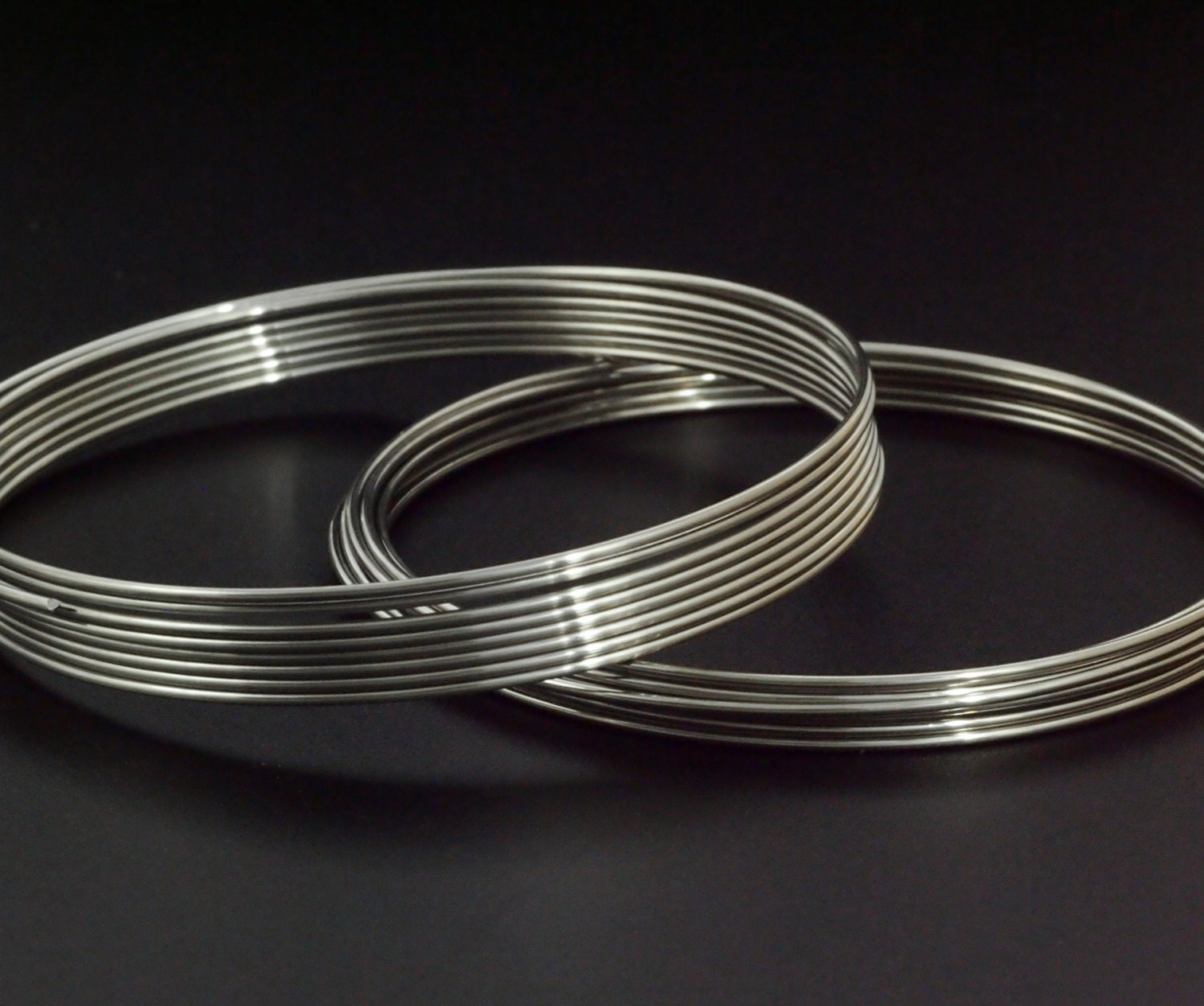 Best Bangle Memory Wire Heavy Duty 19 gauge in Stainless