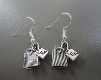Tea Bag Earrings