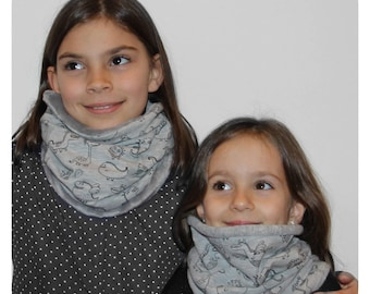 Snood child dinosaur dragon Monster animal gray stretchy Choker