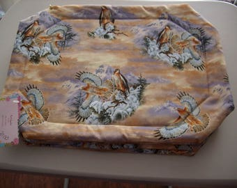 Hawk Placemats - Set of 4