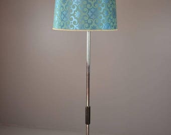 Retro Standard Lamp & Large 1960's Shade