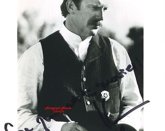 KEVIN COSTNER Signed Original Autographed 8x10 Photo COA #6