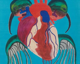 Humming bird heart