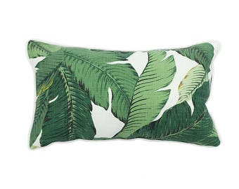 Tommy Bahama Outdoor swaying palm print cushion pillow cover 45 x 30 cm rectangle