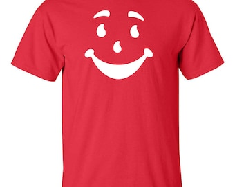 Kool Aid Face Man OH YEA Cool Funny Men's Tee Shirt 941