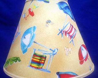Beach Lamp Shade
