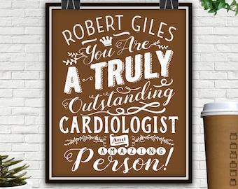 Custom Fantastic Cardiologist Print, DOWNLOAD ONLY, Gift For Cardiologist, Cardiologist Gift, Heart Cardiologist, Cardiologist, Doctor Gift