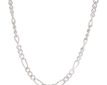 Sterling Silver Figaro Chain (925N542)