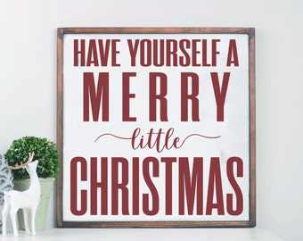 Christmas wall art etsy merry christmas wood sign farmhouse holiday decor modern farmhouse wood sign wooden sign christmas wall decor christmas wall art solutioingenieria Choice Image
