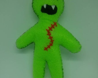 Zombie Voodoo Doll Lime