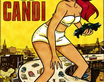 Attack of The 50ft Candi Poster