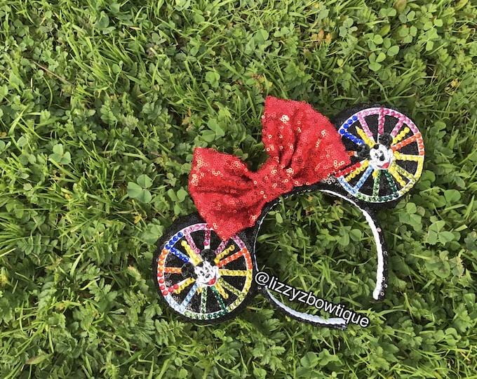 Mickey's fun Wheel Sequin Minnie ears