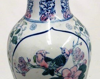 Listing 357 is a tall chinese porcelain vase