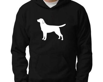 Labrador Retriever silhouette Hoodie