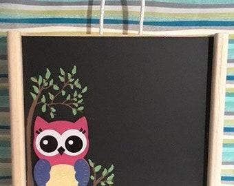 Owl Art Box