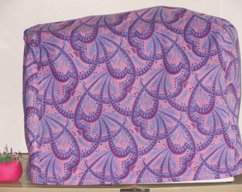 Abstract Sewing Machine Cover, Handmade, Electronics Covers