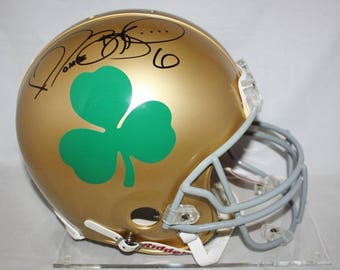 Jerome Bettis Autographed Signed Notre Dame Fighting Irish Full Size Helmet JSA