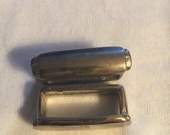 Silver Bar Belt Loop (#65)