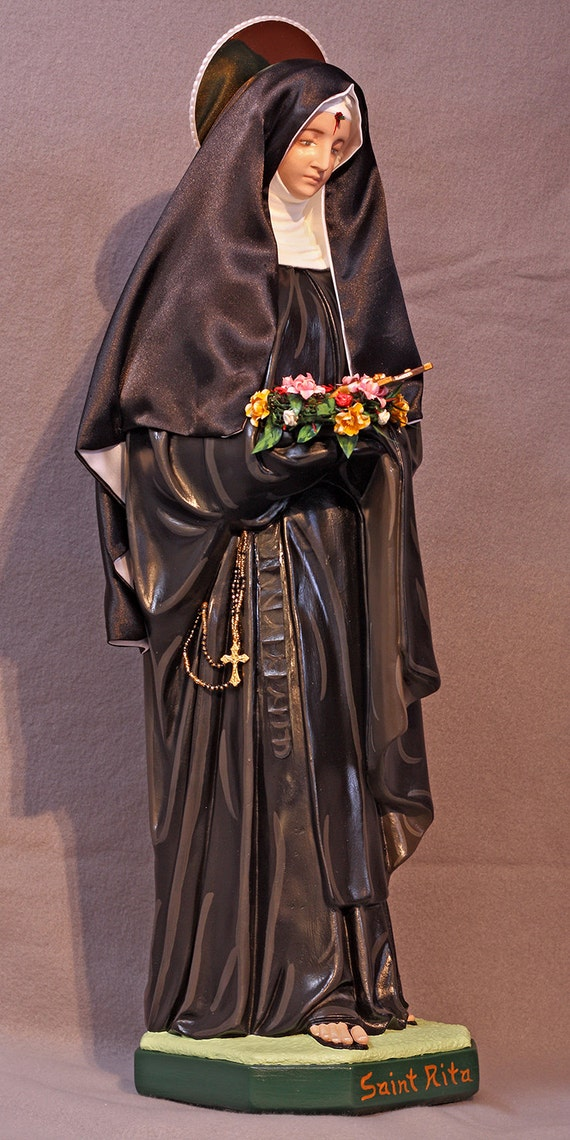 """St. Rita of Cascia 26"""" Patroness of Impossible Causes"""