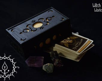 Demented Moon Tarot box