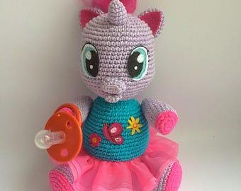 Lily By My little pony, PDF CROCHET PATTERN, Instant Download, Amigurumi
