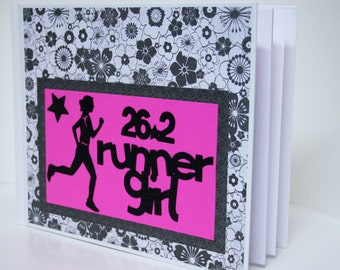 50% OFF ** Super Runner's Race Bib Book - Fits up to 28 Race Bibs