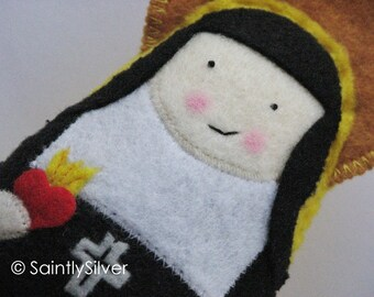 Saint Jane Frances of Chantel Felt Saint Softie